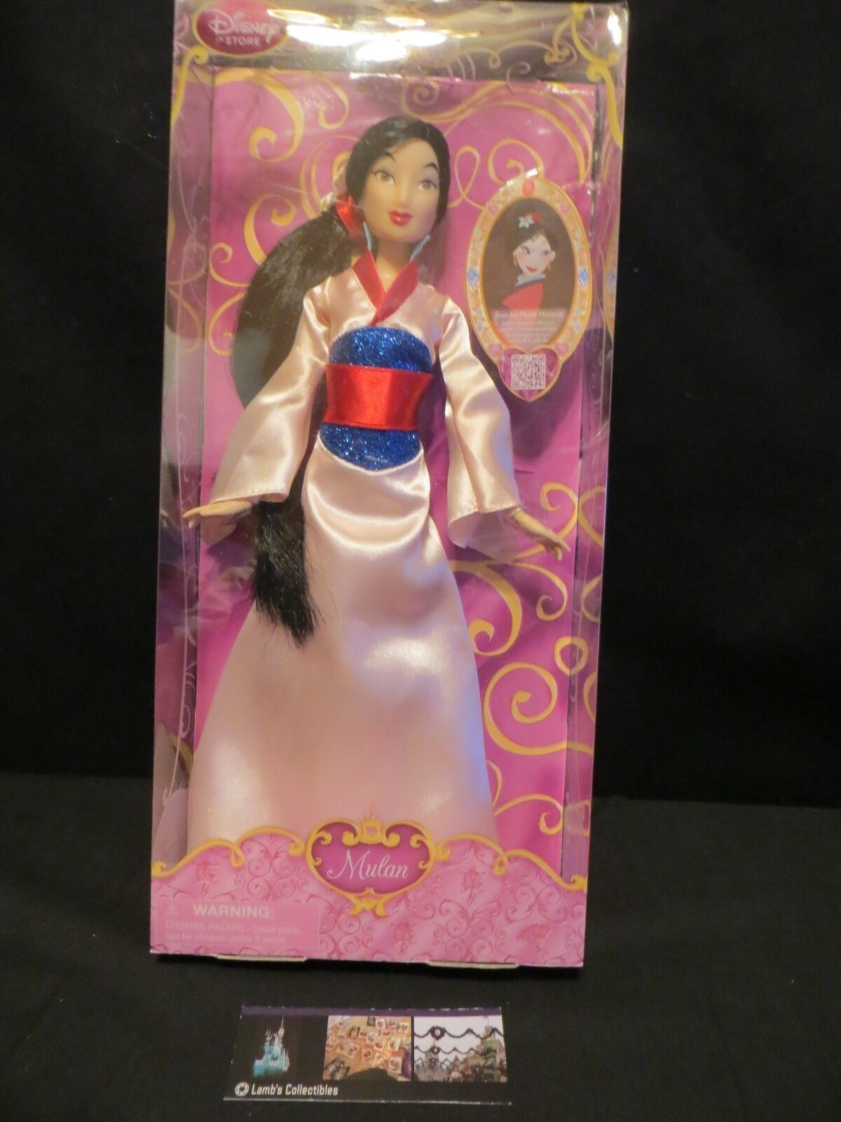 Primary image for Mulan Kimono Disney Store Authentic Classic Doll 12 inch Action Figure Princess