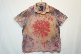 American Eagle Midweight Cotton Polo Shirt, Tie Dye, Men's 2XL 9349 - $342,64 MXN