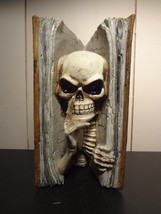 Halloween Skull Book Of Curses - $11.60