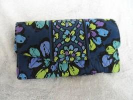 Vera Bradley strap wallet in retired Indigo Pop pattern   - $22.50