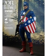 Captain America The First Avenger Hot Toys Exclusive 1/6 Scale Collectib... - $470.25