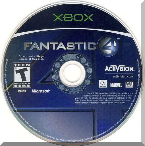 XBOX - Fantastic 4 (2005) *Jessica Alba / Marvel Comics / Movie Based Title*