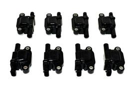 "Chevrolet GMC GM LS LSX LS1 LS2 LS3 LS6 8 Coils & 8"" 8mm Spark Plug Wires D510C image 2"