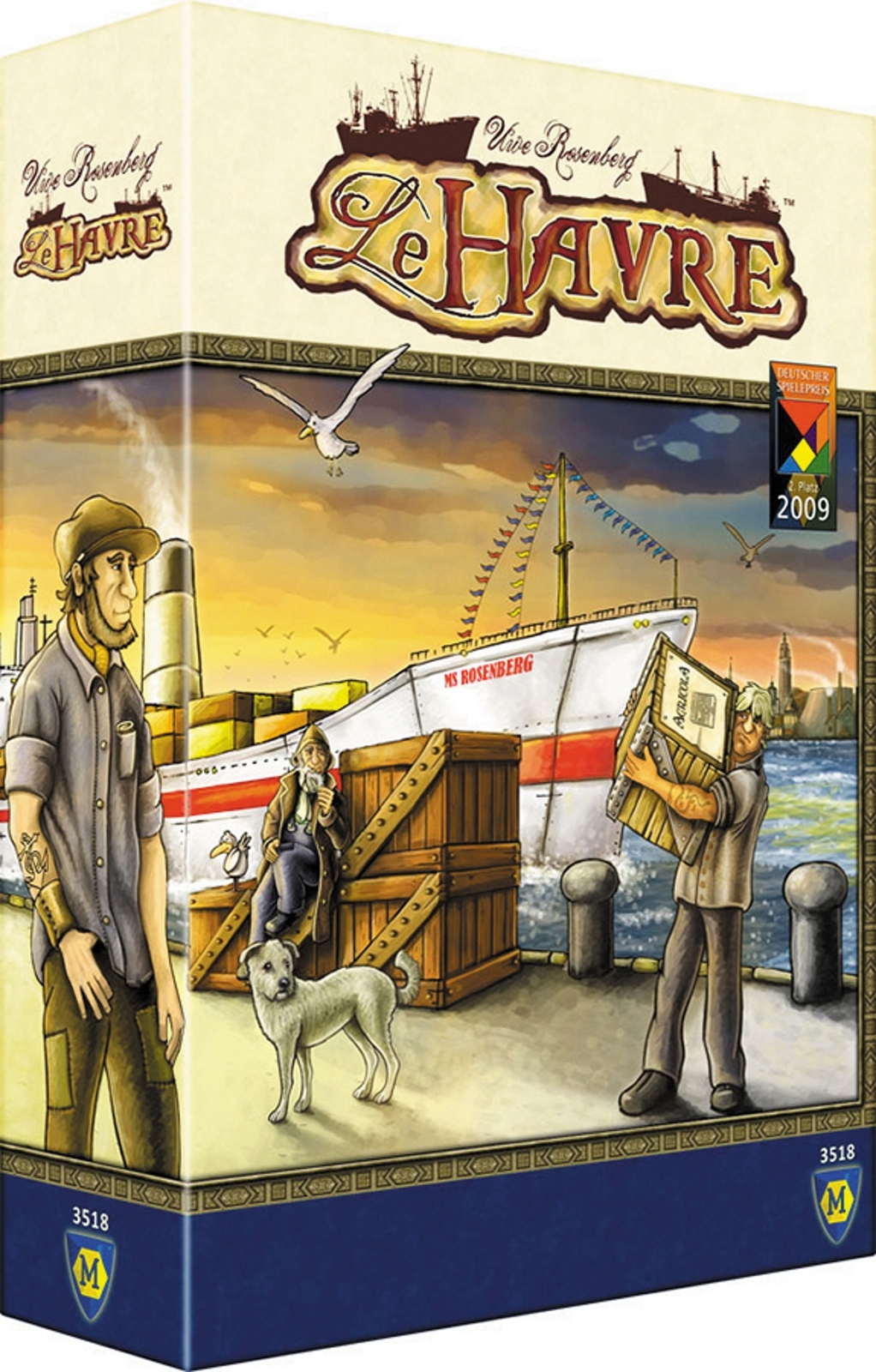 Le Havre - City building style strategy Boardgame (Mayfair Games)