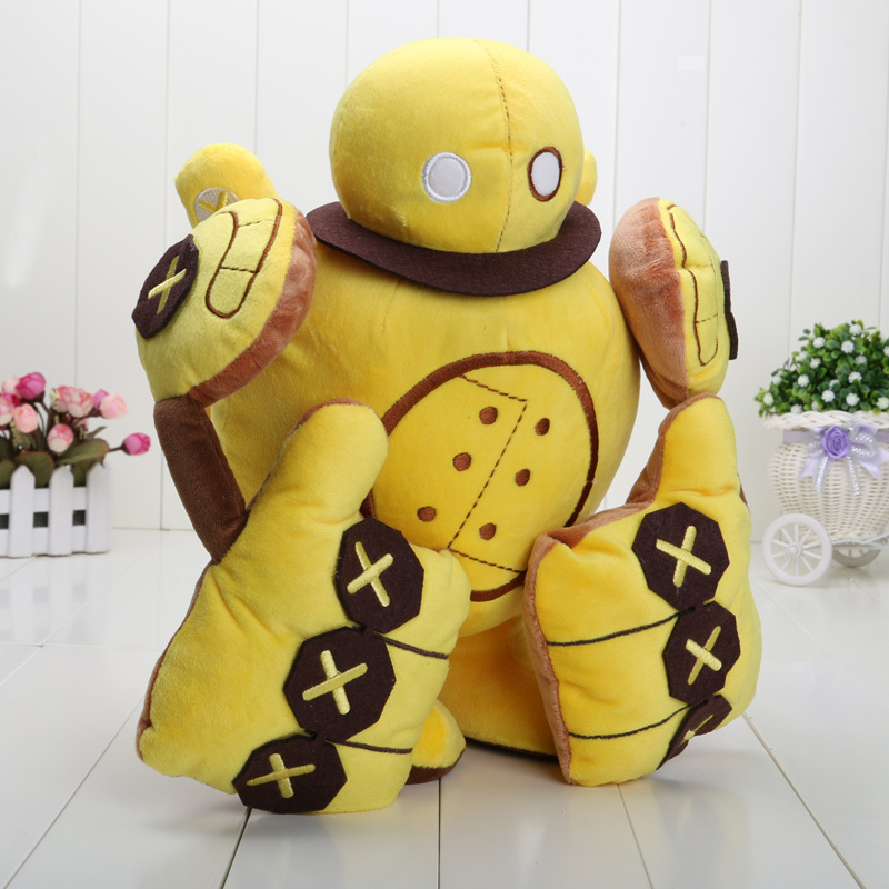 35CM Blitzcrank Plush Dolls Robot Cotton Toy for Christmas gift Great - $27.00