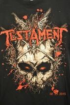 Testament North America 2012 Tour T-Shirt Sz. Large - $15.45