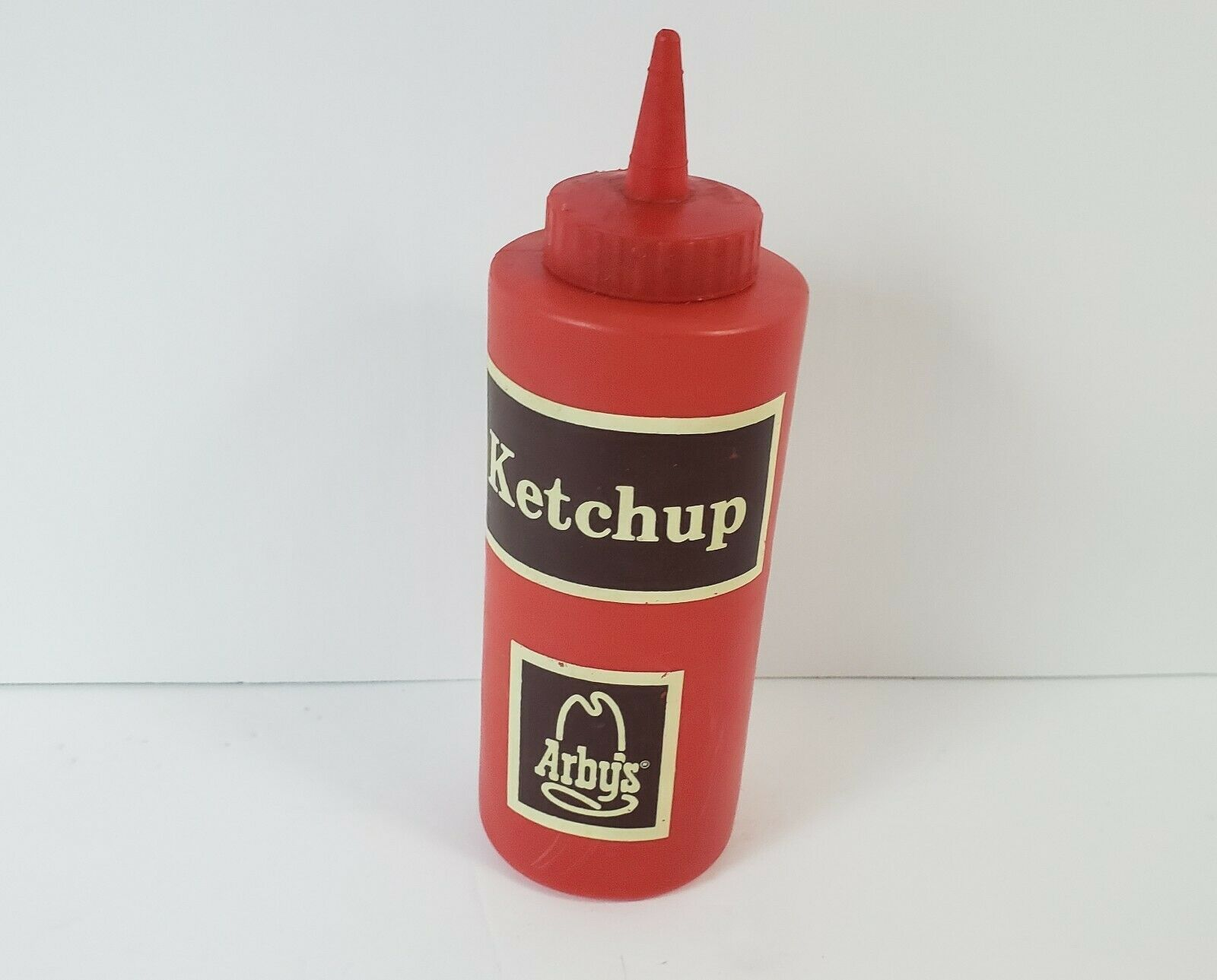 "Vintage Arby's Ketchup Squeeze Bottle - 1970's - Advertising - 7.5"" Tall image 3"