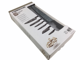 Farberware 12-Piece High Carbon Stainless Steel Kitchen Knives Cutlery S... - $27.98