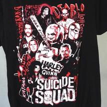 Suicide Squad Harley Quinn Graphic T-shirt Men Women Size 2XL Short Slv Black  - $19.79