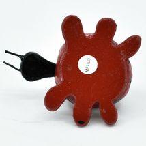 Handmade Oaxacan Wood Carving Folk Art Miniature Ladybug Bobble Head Figurine image 5