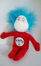 Dr Seuss Cat in the Hat Thing 2 Small Plush Bean Bag Stuffed Animal Doll... - $5.93