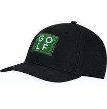 Adidas PGA Tiger Style Golf Green Turf OSFA Snapback Black Trucker Hat C... - $24.49