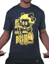 Dissizit Uomo Navy sopra Un Miliardi Served Drive Up Fastfood T-Shirt SST12-473