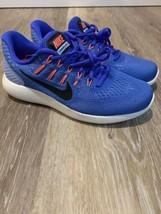 ce3214c58e7b NIke Lunarglide 8 Women  39 s Running Shoe Sz 6 Blue Black White AA8677