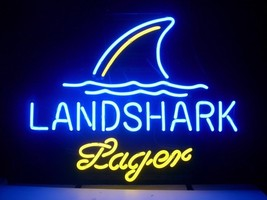 "Brand New Landshark Lager Beer Neon Light 16""x 14"" [High Quality] - $129.00"