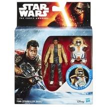 "Star Wars The Force Awakens 3.75"" Armour Figure Snow Finn Starkiller Base B3887 - $20.02"