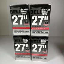 """Lot of Four 27"""" x 1 1/8 - 1 1/4 Standard Valve Bicycle Inner Tubes Fits 700c - $28.71"""