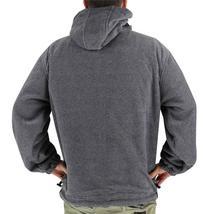 Lax Men's Water Resistant Removable Hood Security Reversible Jacket Black image 11