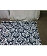 DAMASK AISLE RUNNER 25-50 feet, navy blue, yellow, grey, black, coral, t... - $149.00