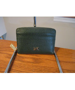Michael Kors Money Pieces Racing Green ZA Coin Card Case Leather NWT Rec... - $45.53