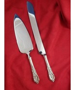 Rose Point Wallace Sterling Cake Serving Set Custom Made - $134.10