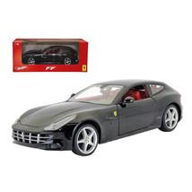 Ferrari FF Black 1/18 Diecast Car Model by Hotwheels - $65.41