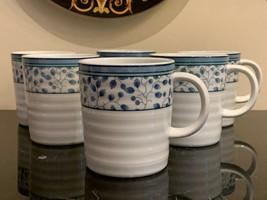 Mikasa Porcelain Susanne Mugs Set of 6 - $90.00