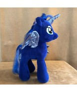 Luna Build a bear blue plush My Little Pony doll alicorn horse stuffed a... - $28.50