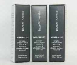 3 Pack! Bareminerals Mineralist Hydra-Smoothing Lipstick, Balance - $24.50
