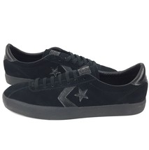 New Converse CONS Break Point Mono Suede Ox Size 9.5 Men Black Suede Shoe - $37.99