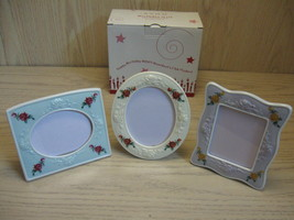 Birthday Gift 2007 President's Club Porcelain Frame Set Qty 3 Avon  - $9.95