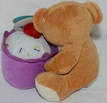 Beverly Hills Brand Playfully Elegant Brown Tan Color Thanks Cupcake Bear image 3