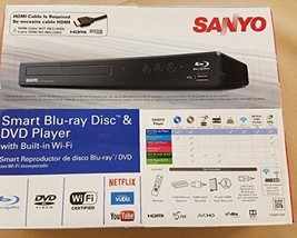 Sanyo FWBP706F Blu-ray Disc & DVD Player with Built-in WiFi - $64.95