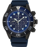 Seiko Solar Prospex Save The Ocean BLACK EDITION Mens Watch SSC701P1 - £223.83 GBP