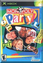 XBOX - Monopoly Party! (2002) *Complete w/Case & Instruction Booklet* - $5.00