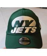 New Era NFL 39Thirty New York Jets Green 20395293 Mens Hat cap Small/Medium - $21.77