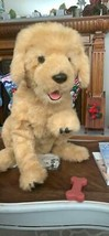 Fur Real BISCUIT MY LOVIN' PUP GOLDEN RETRIEVER DOG FurReal Interactive ... - $166.24