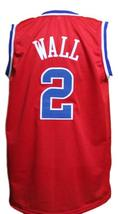 John Wall #2 Washington Basketball Jersey Sewn Red Any Size image 4