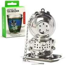 Jacques Deep Tea Diver Infuser Loose Leaf Leaves Stainless Steeper Strainer - $8.40