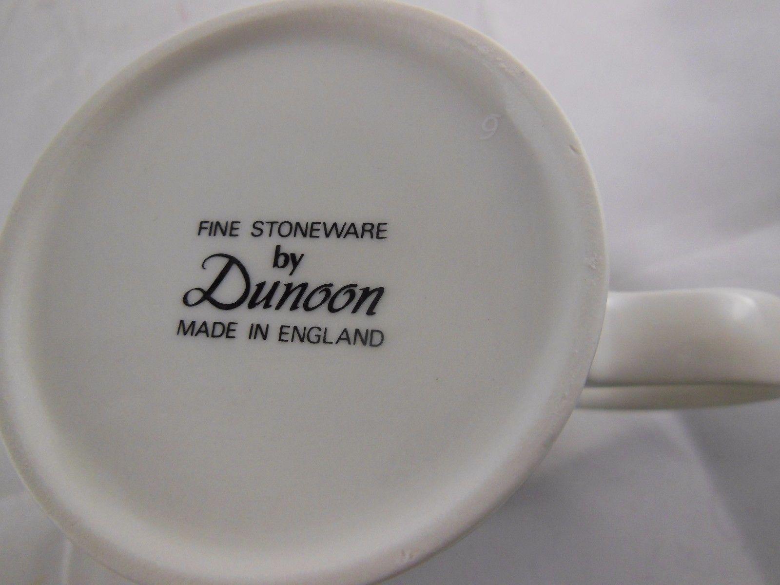 Dunoon fine Stoneware Coffee Tea Mug Cup  Christmas Wishes Santa Made in England