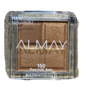 Almay Eyeshadow Quad #150 Pure Gold Baby New Sealed - $8.09