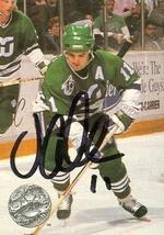 John Cullen autographed Hockey Card (Hartford Whalers) 1992 Pro Set #175 - $14.00
