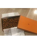 Hermes Beach Bath Towel Floor Mat Animal Leopard Cotton 100% from Japan - $568.25