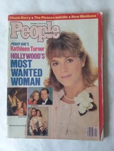 VTG People Magazine Nov '86 Kathleen Turner Chuck Berry Johnny Cash - $7.42