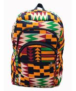 Ankara African Kente Print Backpack Bookbag Rucksack College Bag School ... - $38.75