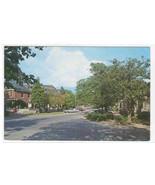 Street Scene Car Pinehurst North Carolina postcard - $5.94