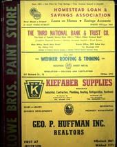 1954 William's Dayton Ohio City Directory Includes Drexel Oakwood Ridgewood - $37.99