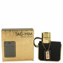 Armaf Tag Him Prestige by Armaf Eau De Toilette Spray 3.4 oz for Men - $26.80