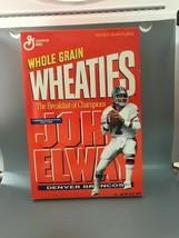 Empty John Elway Wheaties Box - $14.82