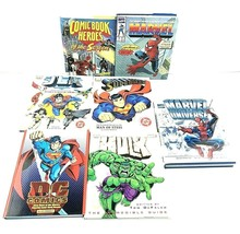 Lot of 7 DC & Marvel Comic Books: Justice League, Superman, Spider-Man, The Hulk - $37.65